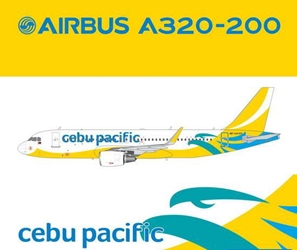 Cebu Pacific A320(S) (New Livery, Sharklets) RP-C4107 (1:400)?, GeminiJets 400 Diecast Airliners Item Number GJCEBU4320