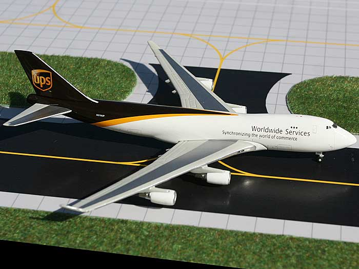 "UPS 747-400F ""N572UP"" (1:400), GeminiJets 400 Diecast Airliners Item Number GJUPS861B"