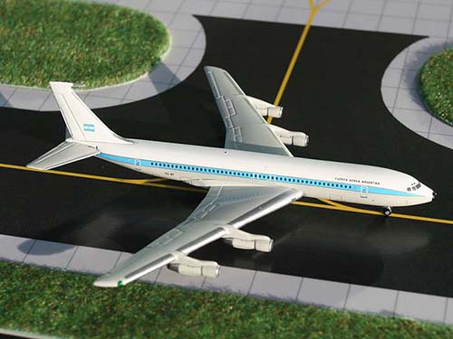 Argentina Air Force 707-320B/C (1:400), GeminiJets 400 Diecast Airliners Item Number GSFUA025
