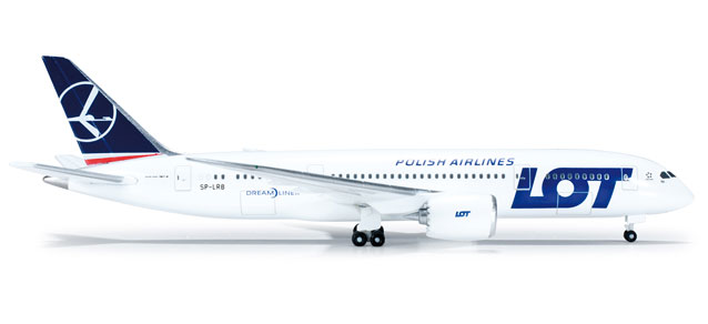 LOT 787-8 (1:500) SP-LRB, Herpa 1:500 Scale Diecast Airliners Item Number HE519069-001
