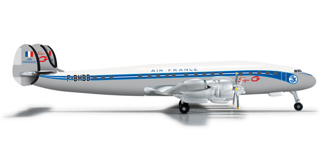 Air France L-1049 (1:500), Herpa 1:500 Scale Diecast Airliners Item Number HE524490