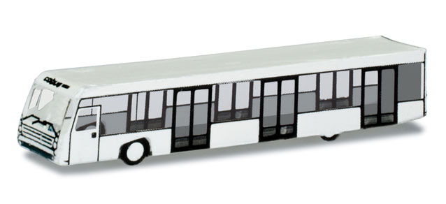 Airport Bus Set (4) (1:400), Herpa 1:400 Scale Diecast Airliners Item Number HE562409