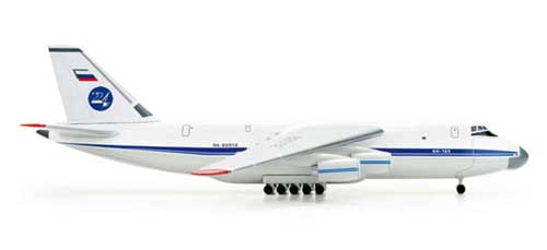 "Russian AN124 ""224TH Flight Unit"" (1:500), Herpa 1:500 Scale Diecast Airliners Item Number HE518413"