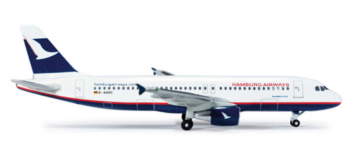 Hamburg Airways A320 (1:500) - Special Sale Item