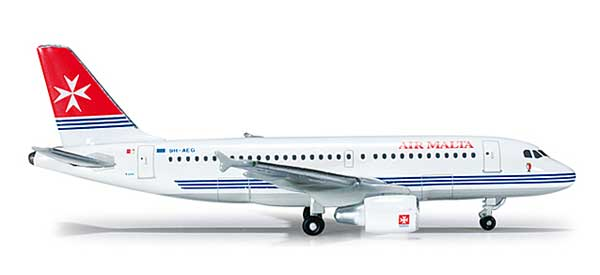 Air Malta A310 (1:500), Herpa 1:500 Scale Diecast Airliners Item Number HE519182