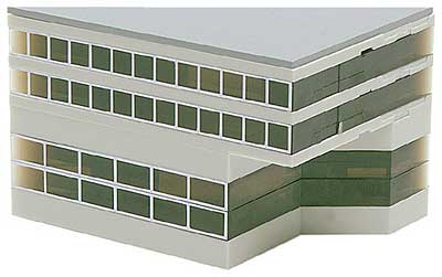 Airport Main Building (1:500), Herpa 1:500 Scale Diecast Airliners Item Number HE519632