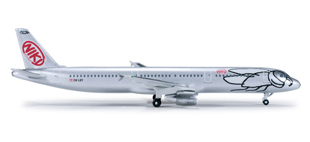 Fly Niki A321 (1:500), Herpa 1:500 Scale Diecast Airliners Item Number HE520942
