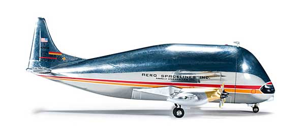 Aero Spacelines B377SGT (1:500)Super Guppy Turbine, Herpa 1:500 Scale Diecast Airliners Item Number HE523011