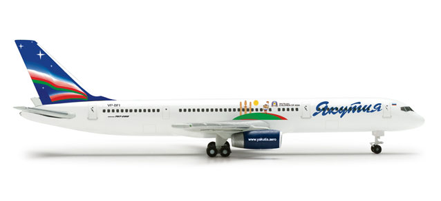 Yakutia 757-200 (1:500) Children Of Asia, Herpa 1:500 Scale Diecast Airliners Item Number HE524186
