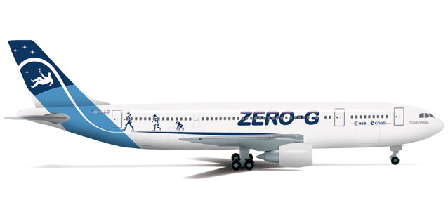 Novespace Zero G A300B2 (1:500), Herpa 1:500 Scale Diecast Airliners Item Number HE524766