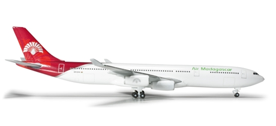 Air Madagascar A340-300 (1:500), Herpa 1:500 Scale Diecast Airliners Item Number HE524889