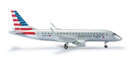 Republic Airlines American Eagle ERJ175 (1:500), Herpa 1:500 Scale Diecast Airliners Item Number HE524902