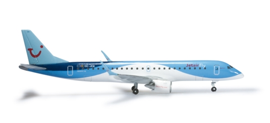 Jetairfly ERJ190 (1:500), Herpa 1:500 Scale Diecast Airliners Item Number HE524926