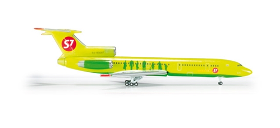 S7 Airlines Tupolev TU-154M (1:500), Herpa 1:500 Scale Diecast Airliners Item Number HE524957