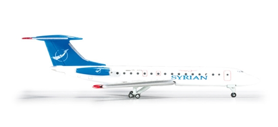 Syrian Air Tupolev TU-143B-3 (1:500), Herpa 1:500 Scale Diecast Airliners Item Number HE524988
