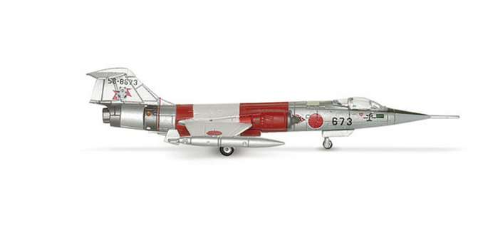 Jasdf F-104J 203RD Hikotai (1:200), Herpa 1:200 Scale Diecast Airliners Item Number HE552165