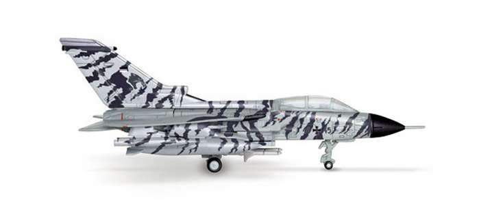 Luftwaffe Panavia Tornado Lechfield Tigers (1:200), Herpa 1:200 Scale Diecast Airliners Item Number HE552172