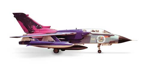 "Italian Air Force Tornado Ids ""Black Panther"" (1:200), Herpa 1:200 Scale Diecast Airliners Item Number HE553513"