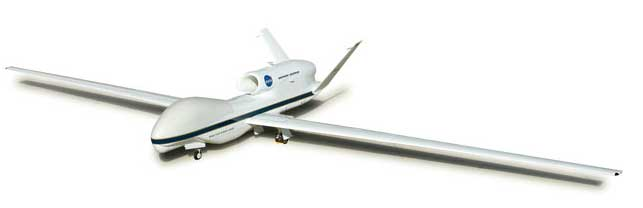 Nasa RQ4 Global Hawk (1:200), Herpa 1:200 Scale Diecast Airliners Item Number HE555326