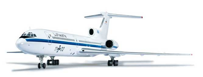 Luftwaffe TU154M (1:200) Open Skies, Herpa 1:200 Scale Diecast Airliners Item Number HE555456