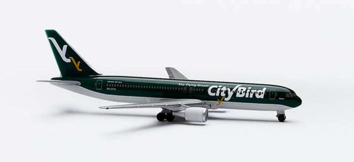 Citybird B767-300 (1:500), Herpa 1:500 Scale Diecast Airliners Item Number HE502924