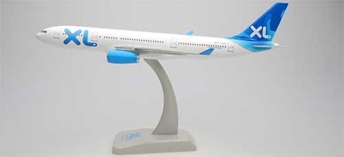 XL Airways A330-200 W/Gear (1:200), Hogan Wings Collectible Airliner Models Item Number HG1554G