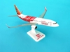 Air India Express 737-800W REG#VT-AXG (1:200) W/Gear, Hogan Wings Collectible Airliner Models Item Number HG3800GG