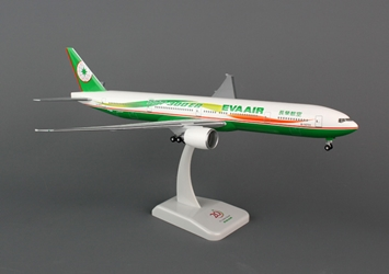 EVA 777-300ER, Reg: HG4838G (1:200) W/Gear, Preassembled model