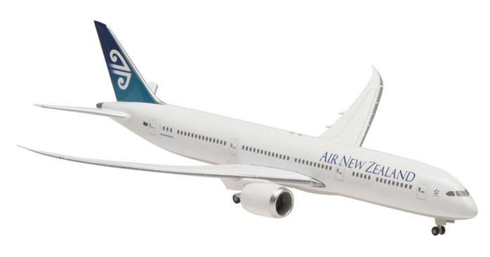 Air New Zealand 787-9 (1:400) with Gear, Straight Wings, No Stand