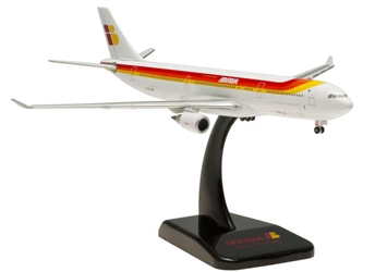 Iberia A330-300 (1:400) with Gear & Stand EC-LUB, Hogan Wings Collectible Airliner Models Item Number HG5439
