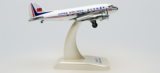 China DC-3 (1:200), Hogan Wings Collectible Airliner Models Item Number HG9406