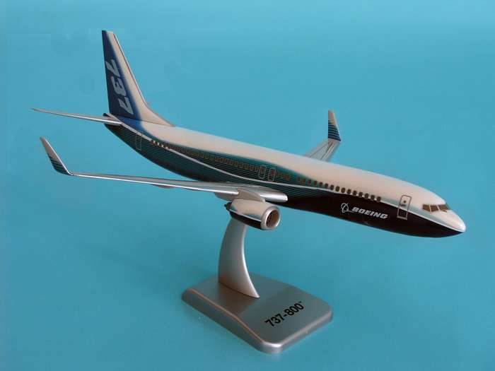 "Boeing 737-800W (1:200) New Livery ""Dreamliner"", Hogan Wings Collectible Airliner Models Item Number HG3688G"