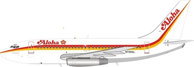 Aloha Airlines Boeing 737-200 N730AL (1:200), InFlight 200 Scale Diecast Airliners, Item Number IF732AQ1018