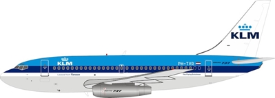KLM Boeing 737-200 PH-TVR (1:200) by InFlight 200 Scale Diecast Airliners Item Number IF732KL0519