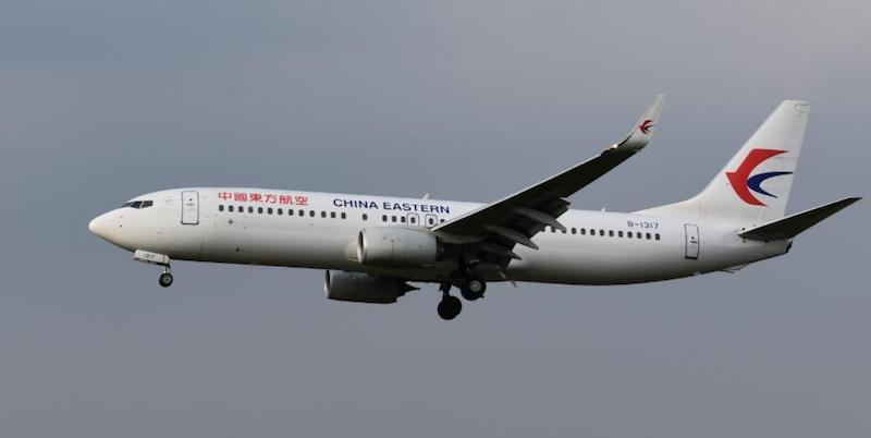 China Eastern Airlines Boeing 737-800 B-1317 With Stand (1:200) by InFlight 200 Scale Diecast Airliners
