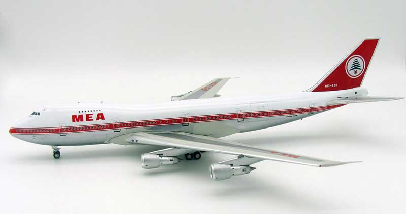 MEA Boeing 747-200 OD-AGI Polished (1:200) - Preorder item, Order now for future delivery
