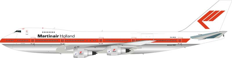 Martinair Boeing 747-200 PH-MCE (1:200) - Preorder item, order now for future delivery