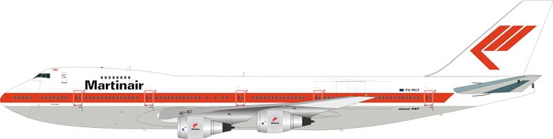 Martinair Boeing 747-200 PH-MCF (1:200) - Preorder item, order now for future delivery