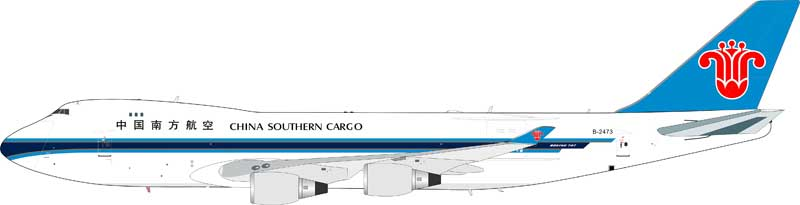 China Southern Airlines Cargo Boeing 747-400 B-2473 (1:200) - Preorder item, Order now for future delivery , InFlight 200 Scale Diecast Airliners Item Number IF744CZ2473