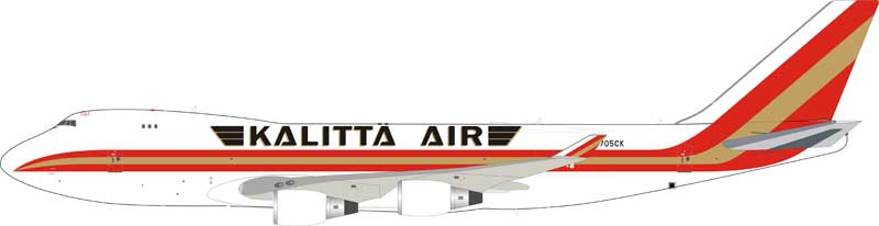 Kalitta Air Boeing 747-400 N705CK (1:200) - Preorder item, Order now for future delivery , InFlight 200 Scale Diecast Airliners Item Number IF744K41218