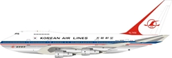 Korean Air Lines Boeing 747SP-B5 HL7456 Polished (1:200) by InFlight 200 Scale Diecast Airliners