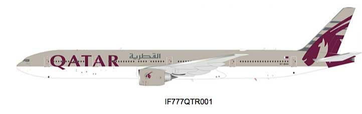 Qatar Airways Boeing 777-300ER A7-BAA (1:200) - Preorder item, Order now for future delivery