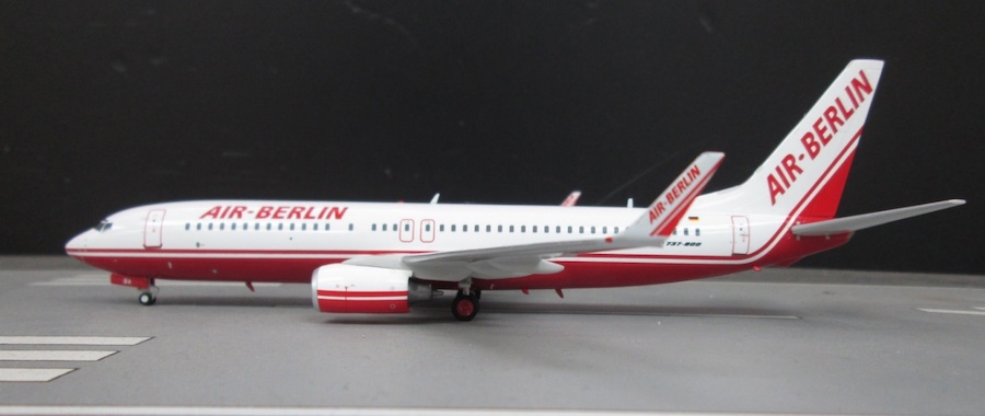 Air Berlin Boeing 737-86J D-ABBA (Limited 83pcs) (1:200) by InFlight 200 Scale Diecast Airliners