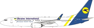 Ukraine International UIA 737-800 UR-UIA (1:200)