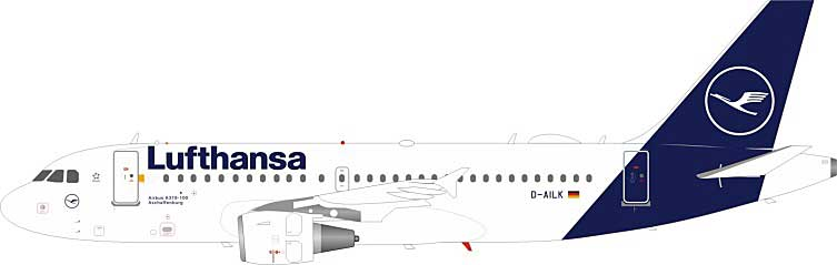Lufthansa Airbus A319-114 D-AILK (1:200) by JFox Model Airliners