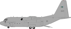Swedish Air Force Lockheed TP-84 Hercules (C-130H/L-382) 84005 (1:200) Limited to 32 by JFox Model Airliners