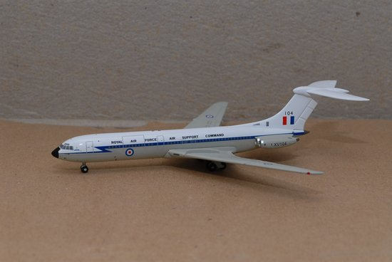 RAF VC-10 Royal Air Force Air Support Command (1:400), Jet X 1:400 Diecast Airliners Item Number JET409