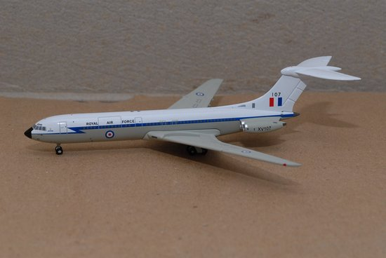RAF VC-10 Royal Air Force (1:400), Jet X 1:400 Diecast Airliners Item Number JET410