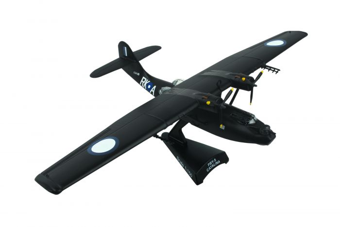 PBY-5A Raaf Black Cat 1:150 by Postage Stamp Diecast Planes item number: PS5556-6