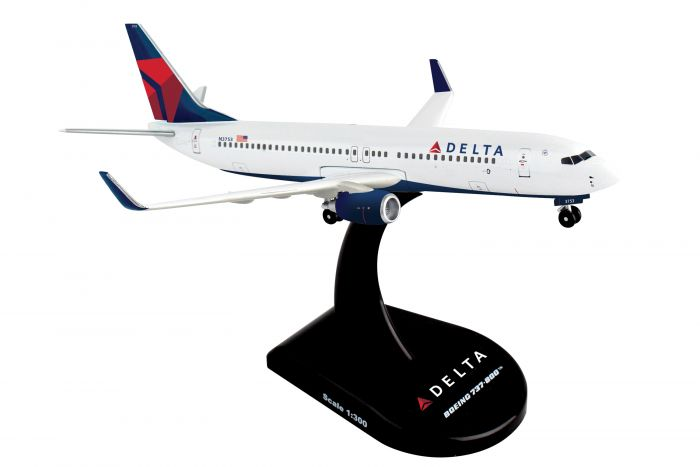 Delta 737-800 (1:300) by Postage Stamp Diecast Planes item number: PS5815-3